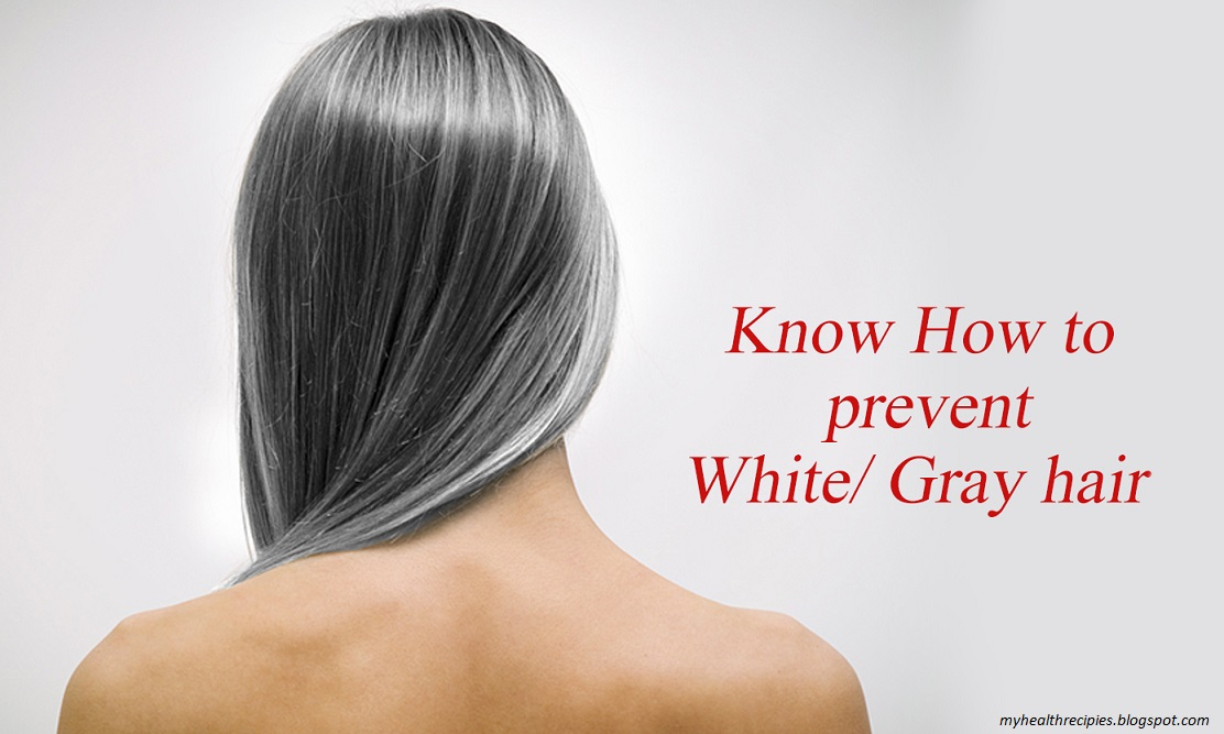 Amazing Home Remedies for Grey Hair - Healthy Food Recipes