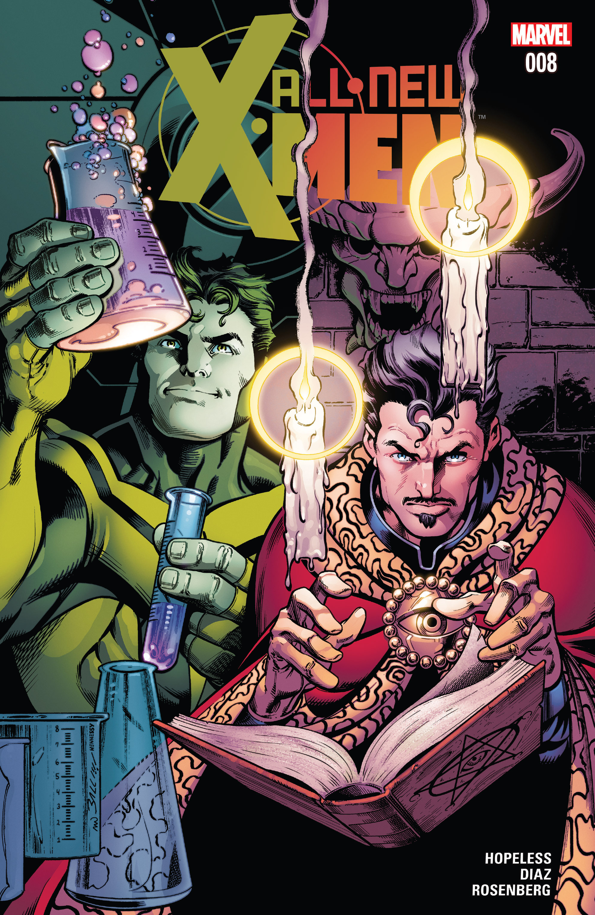 Read online All-New X-Men (2016) comic -  Issue #8 - 1