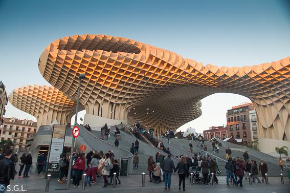 Las setas de Sevilla. 10 visitas imprescindibles de Sevilla