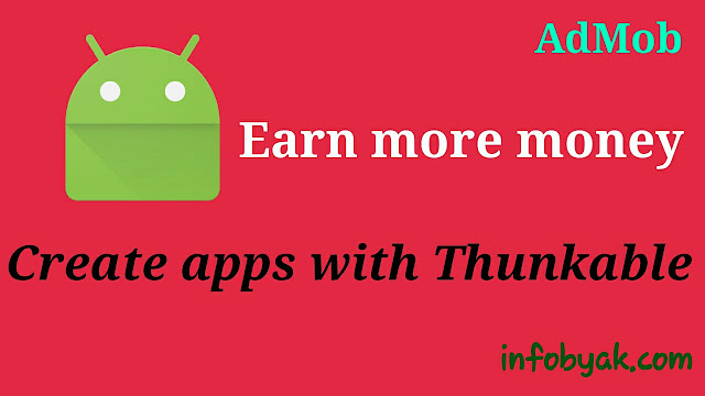 Thunkable: How to create own app for free and make money