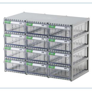 Tủ đựng linh kiện 12 ngăn hàn quốc CA 507