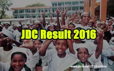 JDC Result 2016