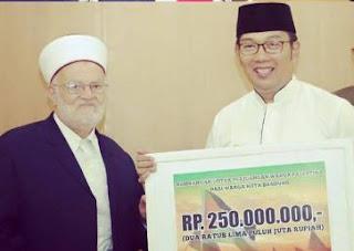 Warga Bandung Sumbang Muslim Palestina