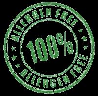 100% Allergen Free