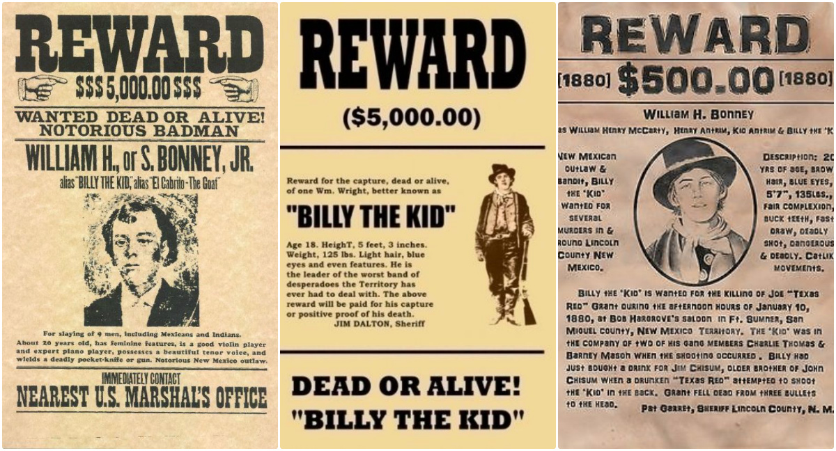 Immortalized Teenage Outlaw of the Southwest: 16 Cool Wanted