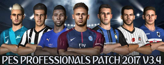 PES Professionals Patch V3.4 PES 2017