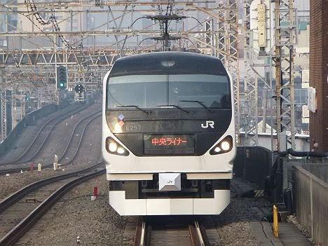 【ダイヤ改正で廃止!】中央ライナー 新宿行き E351系