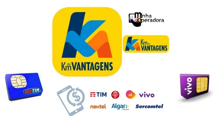 f2fa63330c926 Compre créditos ou chip de celular e ganhe pontos no KM de Vantagens