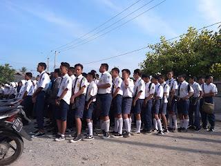 Ratusan Calon Siswa Baru SMK Indonesia Mas Daftar Ulang