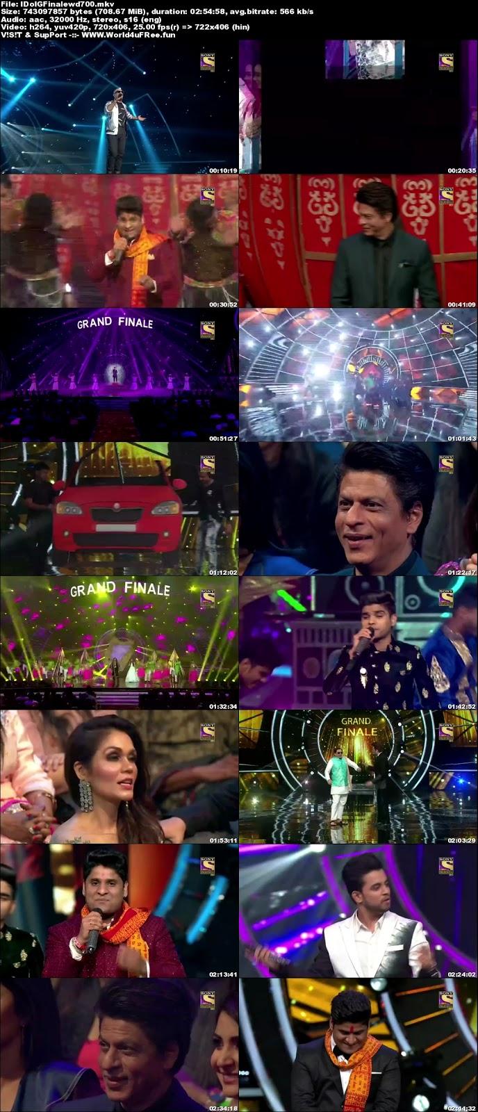 Indian Idol Season 10 2018 Grand Finale WEBRip 480p 700Mb