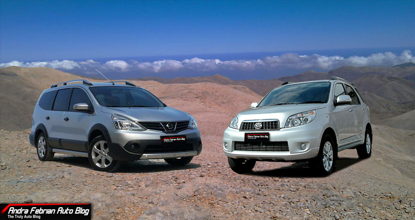 Daihatsu Terios Vs Nissan Grand Livina X-Gear