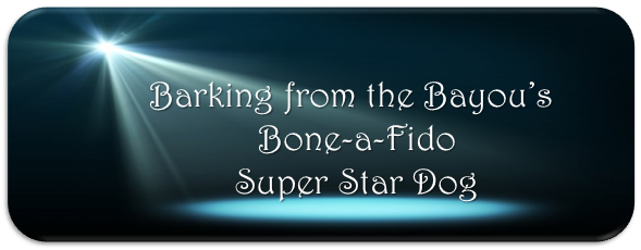 Barking from the Bayou's Bone-A-Fido Super Star Dog