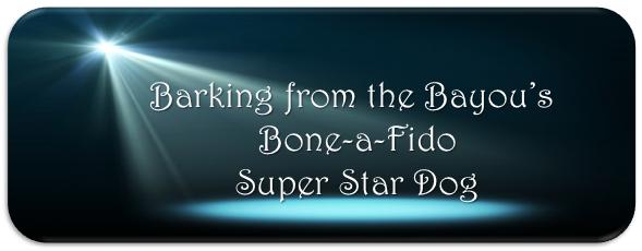 Barking from the Bayou's Bone-A-Fido Super Star Dog