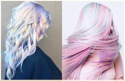 Iridescent Unicorn Hair Color - 18 Best Hair Color Trend 2016