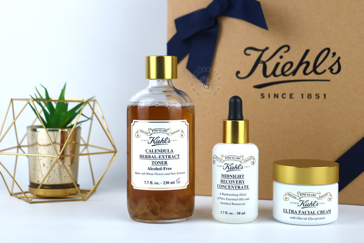 Review Kiehl's 170 Years Anniversary Commemorative Collection