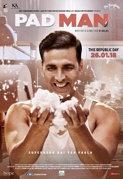 full cast and crew of Bollywood movie PadMan 2018 wiki, Akshay Kumar, Sonam Kapoor, Radhika Apte PadMan story, release date, PadMan wikipedia Actress name poster, trailer, Video, News, Photos, Wallpaper