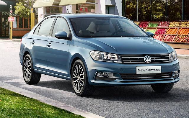 VW New Santana