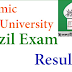 IU Fazil Result 2017 Islamic University 2015- 2016 Session