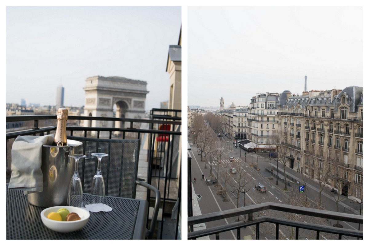 Paris Hotels With Views of Eiffel Tower [and Arc de Triomphe] | hotels with the view of the eiffel tower
