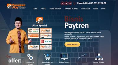 Jasa Pembuatan Web Replika PayTren