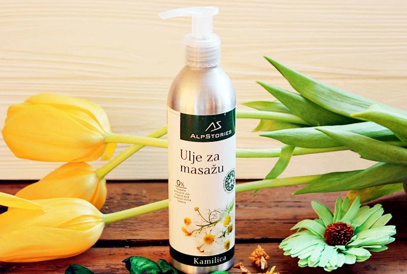Массажное Масло Ромашка AlpStories Massage Oil Chamomile / обзор, отзывы