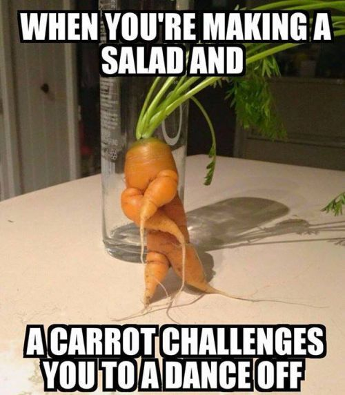 when you are making a salad