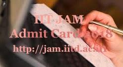 JAM Hall ticket 2018 | JAM 2018 Hall ticket | IIT JAM Hall ticket 2018 | IIT JAM 2018 Hall ticket | IIT JAM Hall ticket download 2018 | IIT JAM 2018 Hall ticket download