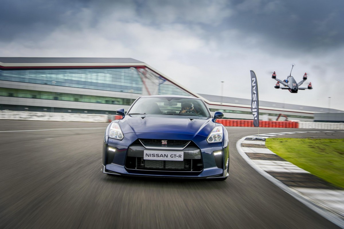 Nissan GT R Drone Can Do 0 62mph In 1.3 Seconds | Larry H. Miller Nissan  Mesa
