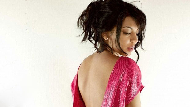 Mugdha Godse Backless in GQ Magazine