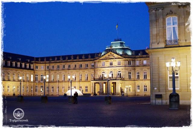 Gartenblog Topfgartenwelt Stuttgart: Blick auf das Stadtschloss