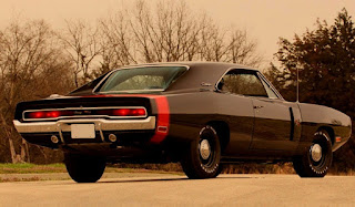 1970 Dodge Charger RT Six Pack Rear