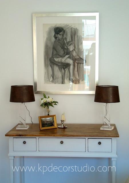 comprar lamparas de mesa, lamparas en decoracion de salon moderno, lamparitas para decoracion salon vintage, comoda madera decapada, mueble antiguo restaurado