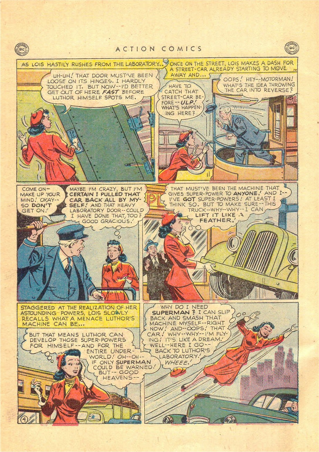 Read online Action Comics (1938) comic -  Issue #156 - 5