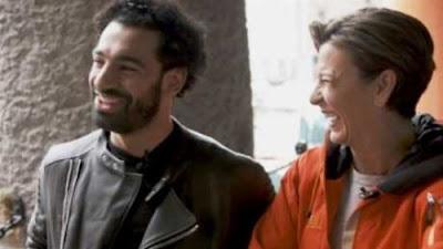 محمد صلاح يتسبب في ضحك مراسلة «سي إن إن».. بهذه الطريقة