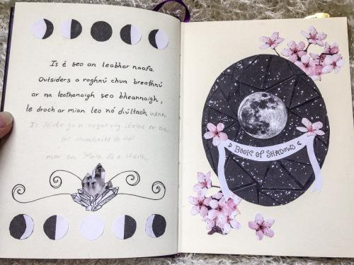 Grimório Bruxa da Lua: Livro das Sombras, Grimório