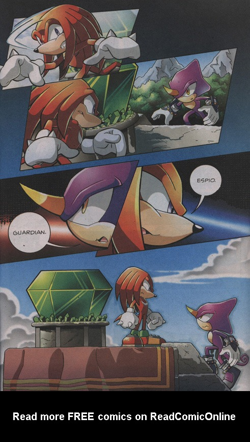 Read online Sonic The Hedgehog comic -  Issue #203 - 20