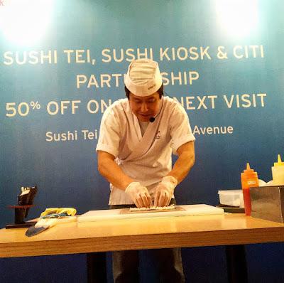 Menu Sushi Tei, Citibank Indonesia diskon 50%