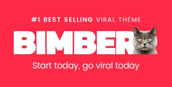Bimber v2.0.3 – Viral & Buzz WordPress Theme