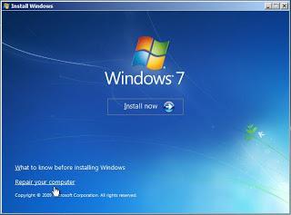 Cara Memperbaiki Bootmgr is Missing Windows 7