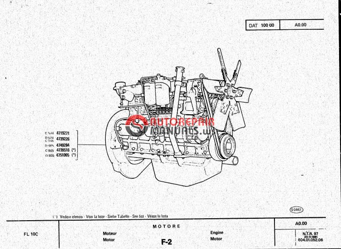 Auto Repair Manuals: Allis Chalmers Crawler Loader FL10C