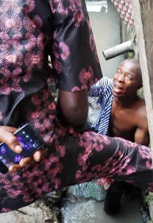 Photos: Suspected kidnapper was arrested in Lagos State