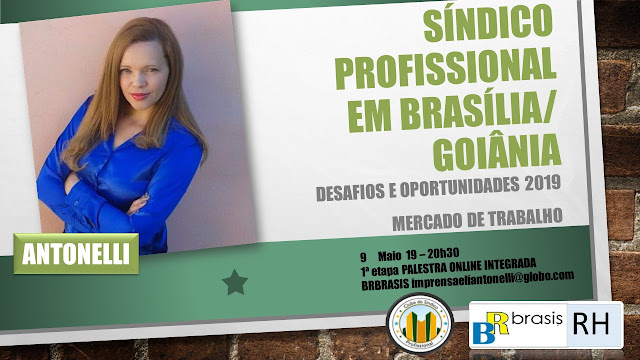 Faça sua inscrição para a palestra Oportunidades e Desafios do Síndico Profissional de Brasília e Goiânia