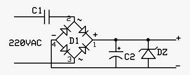 power supply tanpa trafo