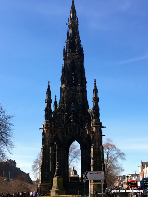 {Erin Out and About} The Scott Monument