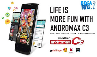 Spesifikasi Smartfren Andromax C3