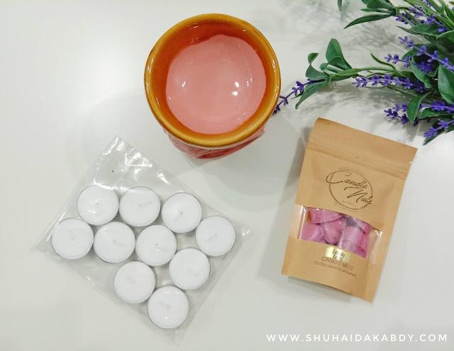 Jom Wangikan Rumah Dengan Candle Nuts By Nadia
