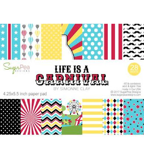 Life Is A Carnival 4.25 x 5.5 inch paper pad