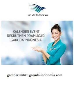 Penting!!! Lowongan Kerja Pramugari Garuda Indonesia