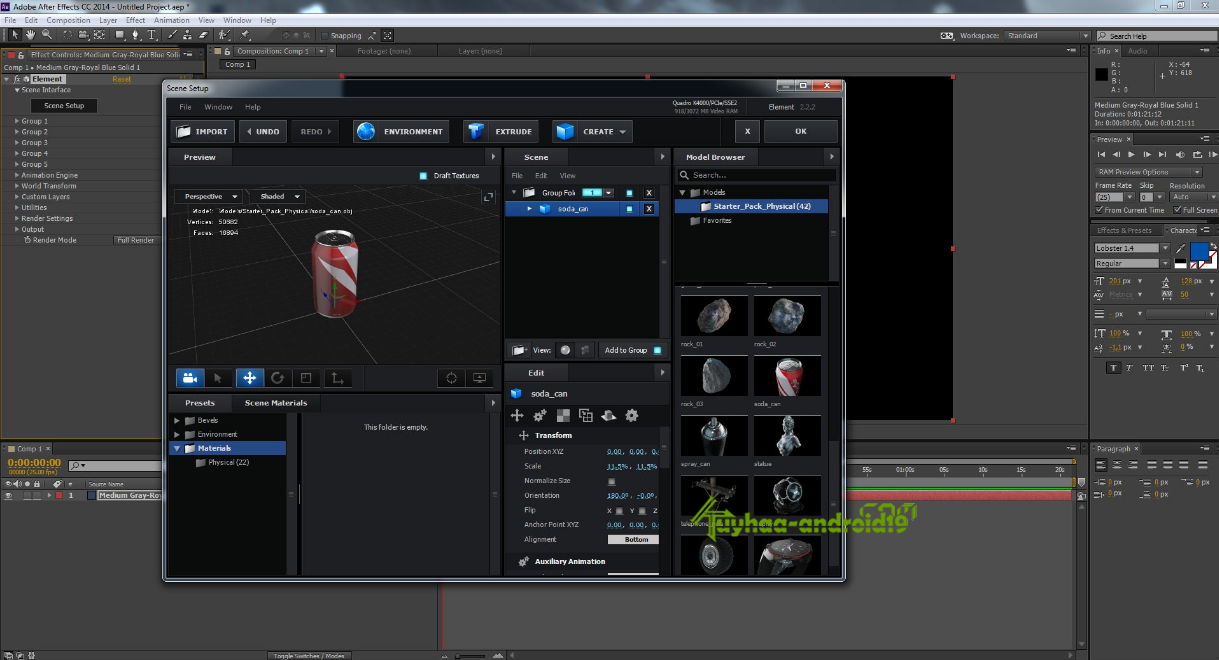 Video Copilot - Element 3D kuyhaa