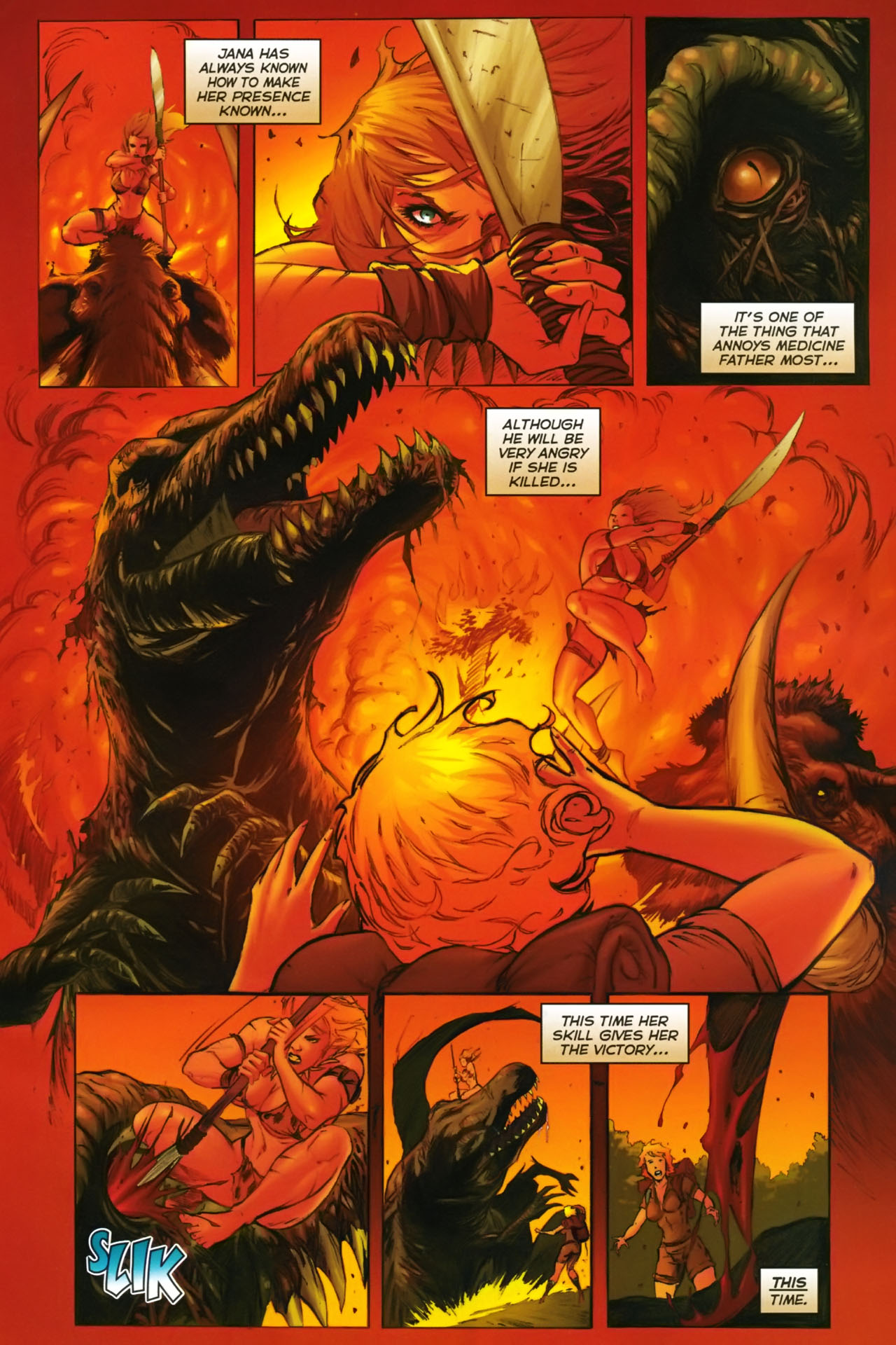 Read online Jungle Girl comic -  Issue #2 - 18